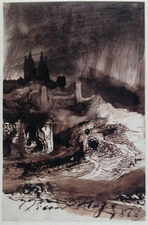 The Castle, 1878 by Victor Hugo