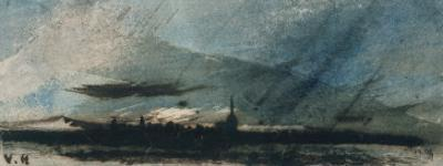 Town at Dusk by Victor Hugo
