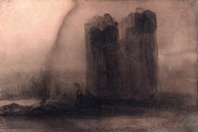 Vision of Notre-Dame, C.1831 by Victor Hugo