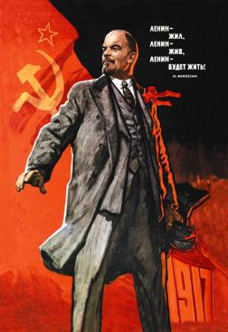 Lenin Lived, Lenin is Alive, Lenin Will Live by Victor Ivanov