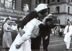 Kissing the War Goodbye by Victor Jorgensen