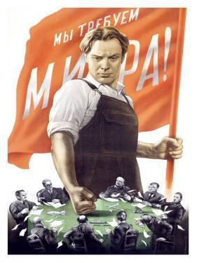 Soviet Communist Poster by Victor Koretsky