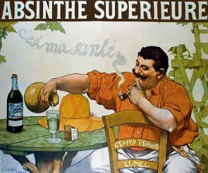 Absinthe Superieur by Victor Leydet