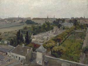 Le cimetière de Picpus et le champ des Martyrs by Victor Marec