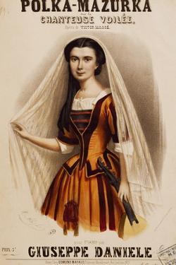 Veiled Singer, Polka-Mazurka by Victor Masse
