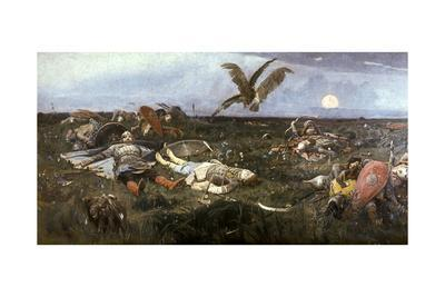 After the Battle Between Prince Igor Svyatoslavich of Kiev and the Polovtsy, 1880