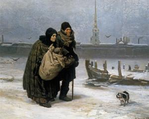 From Lodging to Lodging, 1876 by Victor Mikhailovich Vasnetsov