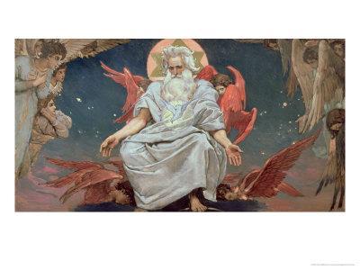 Savaoph, God the Father, 1885-96