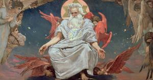 Savaoph, God the Father, 1885-96 by Victor Mikhailovich Vasnetsov