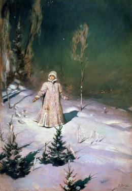 Snow Maiden, 1899 by Victor Mikhailovich Vasnetsov