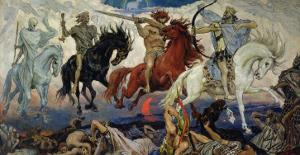 The Four Horsemen of the Apocalypse, 1887 by Victor Mikhailovich Vasnetsov