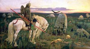 The Knight at the Crossroads, 1882 by Victor Mikhailovich Vasnetsov