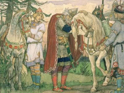 The Song of Prince Oleg, 1899