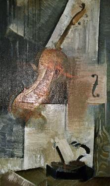 The Violin Composition by Victor Mikhailovich Vasnetsov