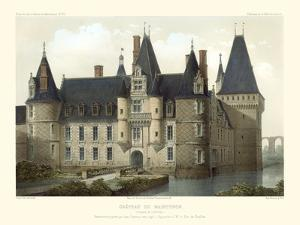 Petite French Chateaux II by Victor Petit