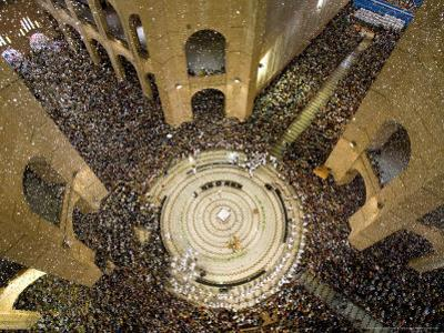 Thousands Attend Mass in Aparecida Do Norte, Brazil, October 12, 2006 by Victor R. Caivano