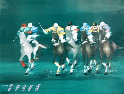 Polo Players - Spahn by Victor Spahn