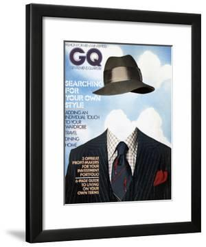 GQ Cover - December 1974 by Victor Valla & Eric Meola