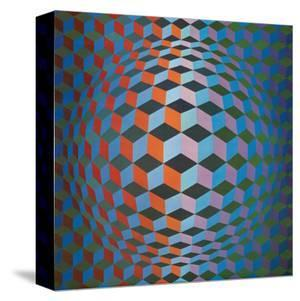 Squares by Victor Vasarely