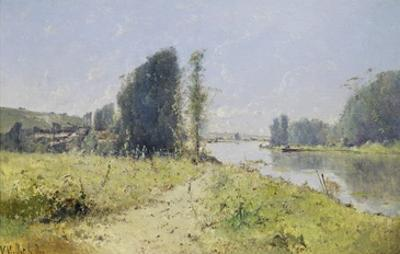 The Banks of the Yonne River, France