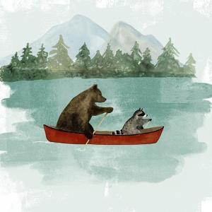 Bear Lake I by Victoria Barnes