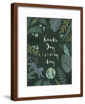 Earth Day Everyday I by Victoria Barnes