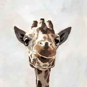 Giraffe's Gaze I by Victoria Barnes