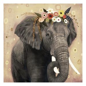 Klimt Elephant I by Victoria Barnes