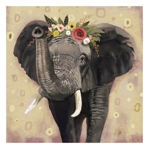 Klimt Elephant II by Victoria Barnes