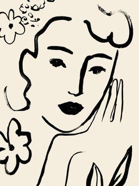 Matisse's Muse Portrait II by Victoria Barnes