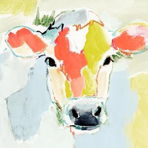 Pastel Cow I by Victoria Barnes