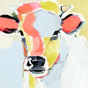 Pastel Cow II by Victoria Barnes
