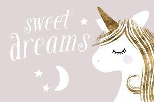 Sleepy Unicorn Collection A by Victoria Barnes