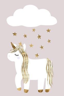 Sleepy Unicorn Collection B by Victoria Barnes