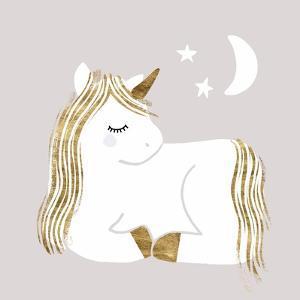 Sleepy Unicorn II by Victoria Barnes