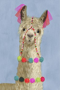 Adorned Llama III by Victoria Borges