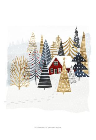 Christmas Chalet I by Victoria Borges