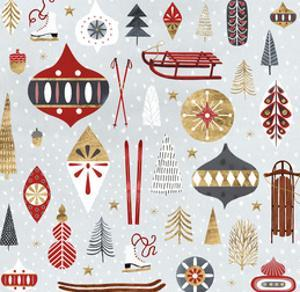 Christmas Chalet IV by Victoria Borges