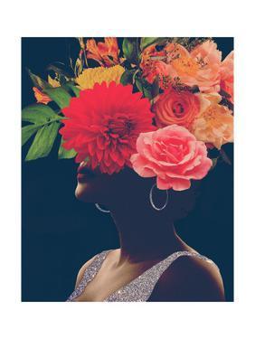 Fleur Collage I by Victoria Borges