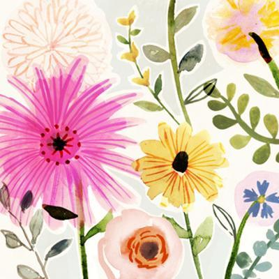 Floral Pop I by Victoria Borges