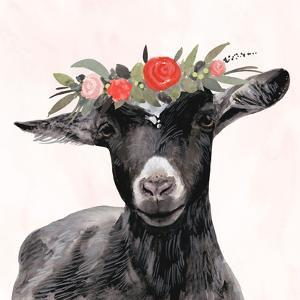 Garden Goat III by Victoria Borges