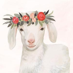 Garden Goat IV by Victoria Borges