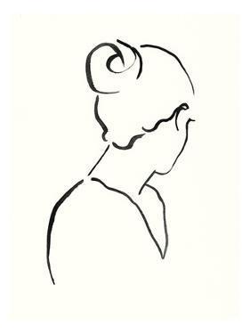 Minimal Profile II by Victoria Borges