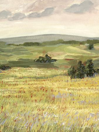 Morning Meadow II by Victoria Borges
