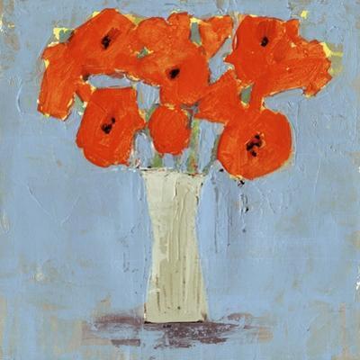 Orange Poppy Impression II by Victoria Borges