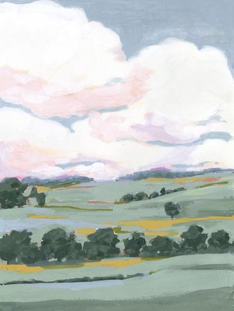 Pastel View II