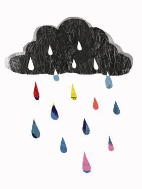 Rainy Day Rainbow I by Victoria Borges