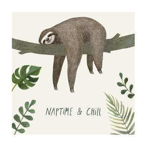 Sloth Sayings II by Victoria Borges
