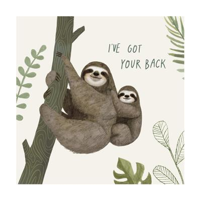 Sloth Sayings III by Victoria Borges