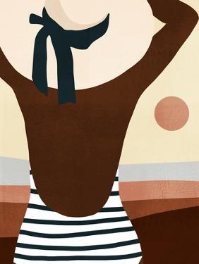 Sunseeker Bathers I by Victoria Borges